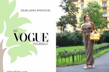 Anna Wintour go vogue yourself