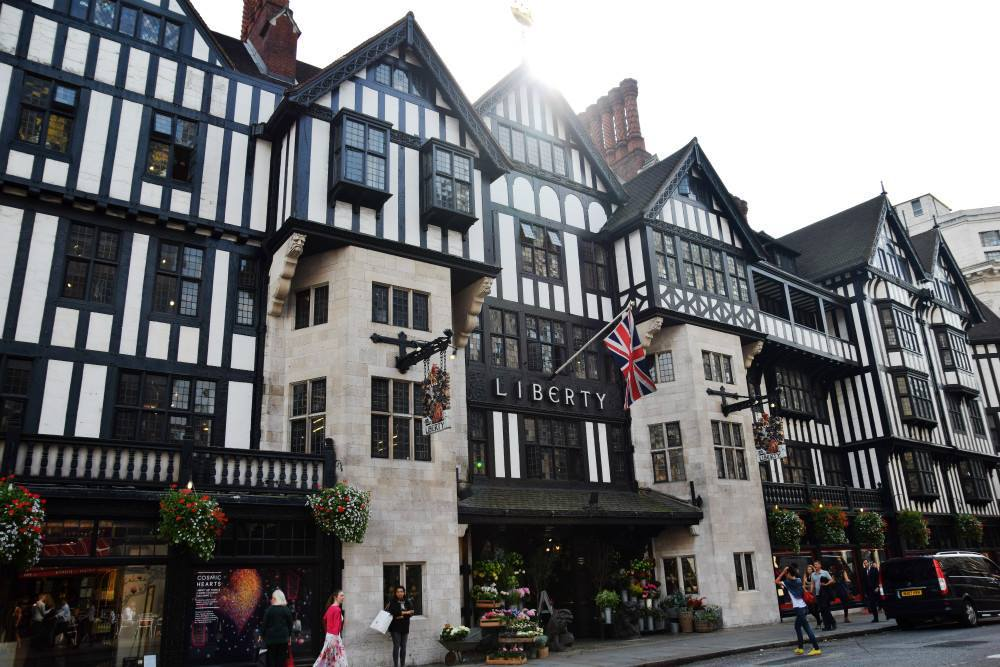 liberty shopping london