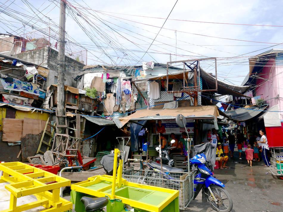 manila happyland slum