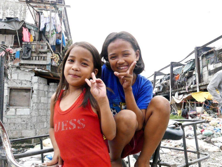 manila slum girls