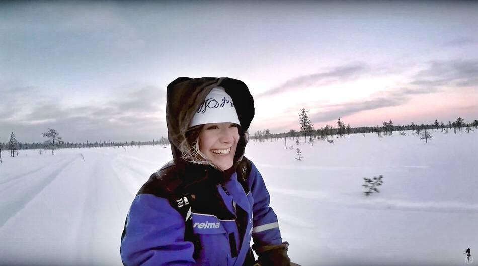 husky safari levi lapland finland