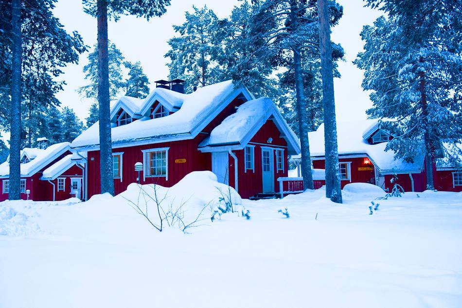 levi finland lapland blue hour
