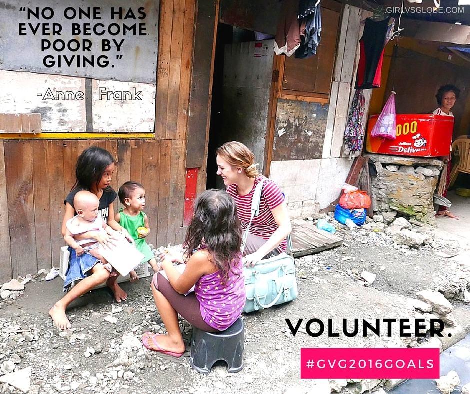 volunteer resolution #gvg2016goals