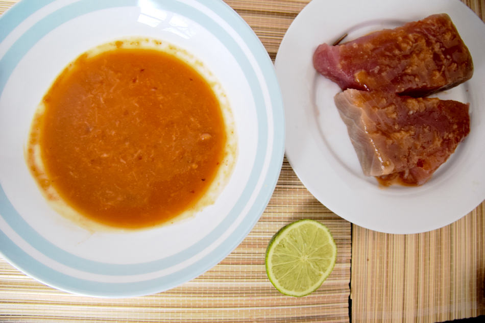 ahi tuna steak marinade