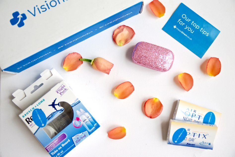 travel contact lens vision direct