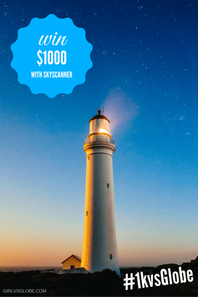 win $1000 with sky scanner #1kvsglobe