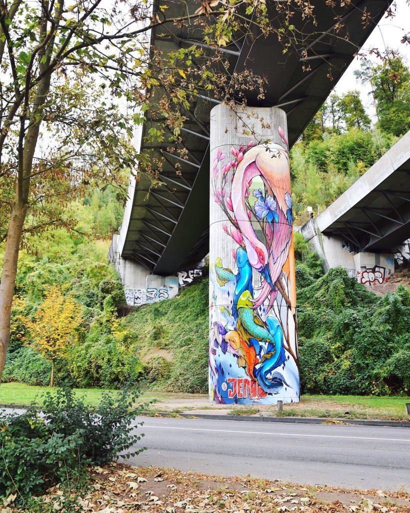 jeroo stuttgart street art