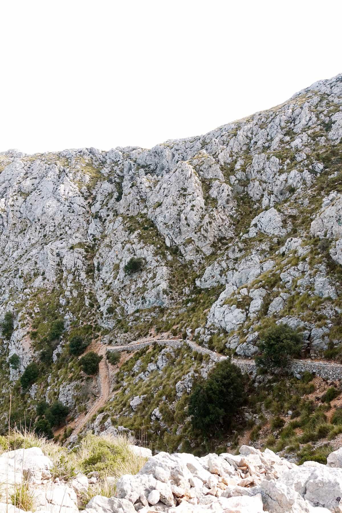 path to lluc mallorca serra de tramuntana