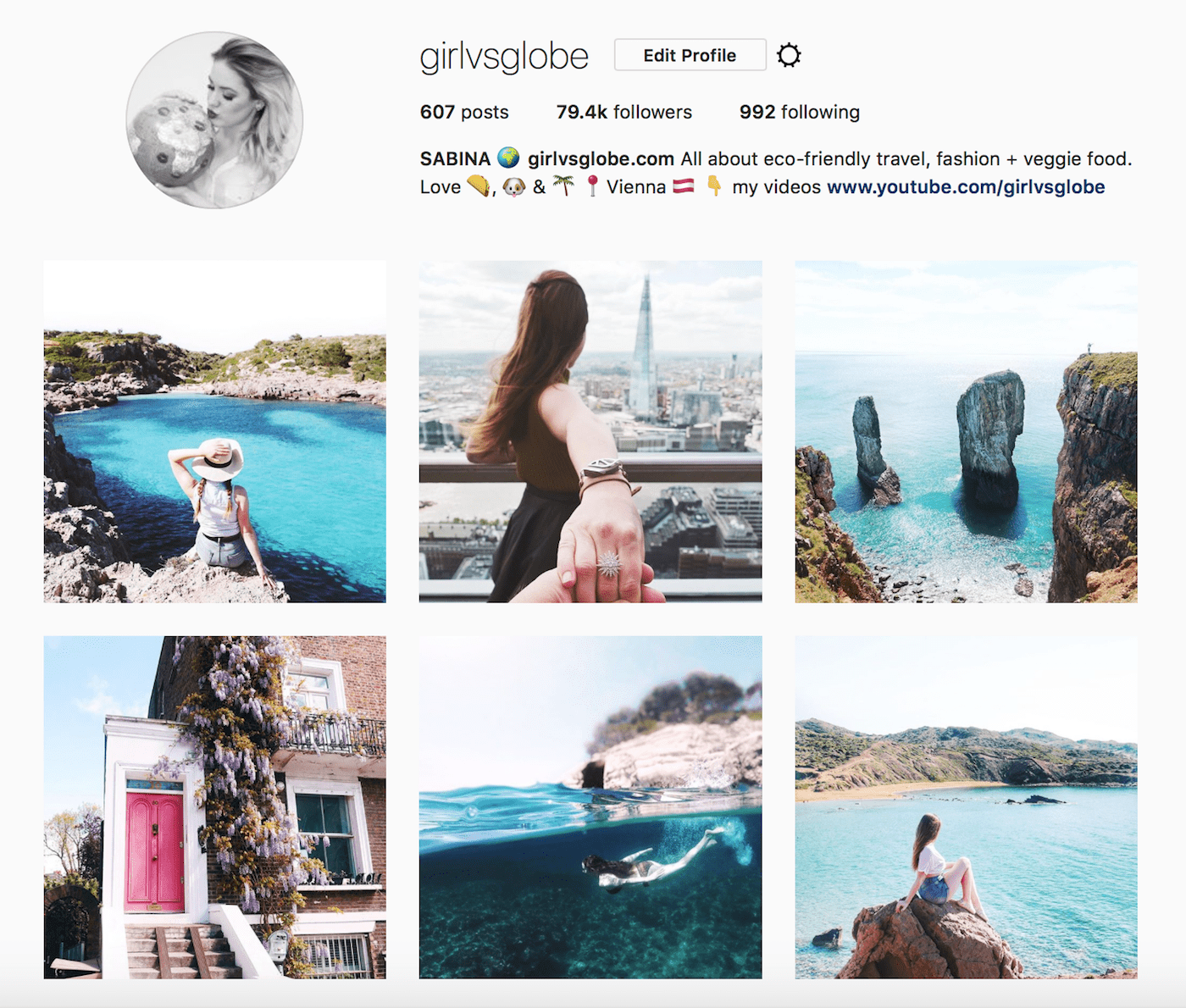 girl vs globe instagram gallery