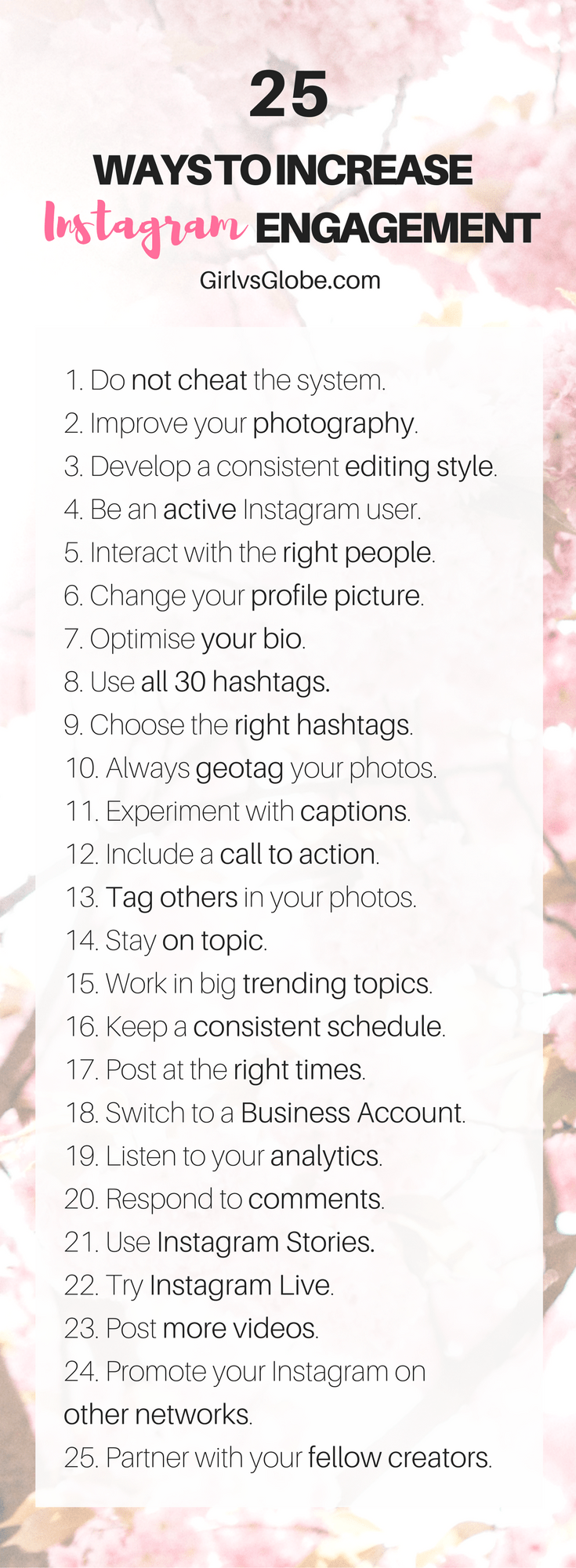 increase Instagram engagement infographic