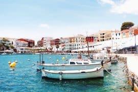 menorca mahon harbour