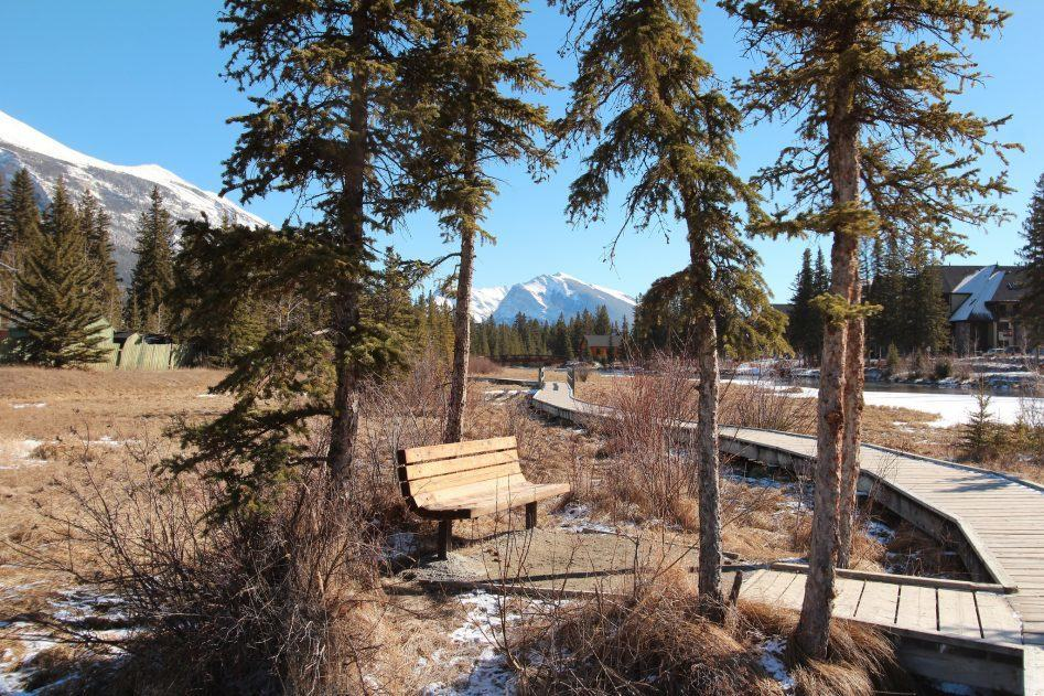 canmore walkway