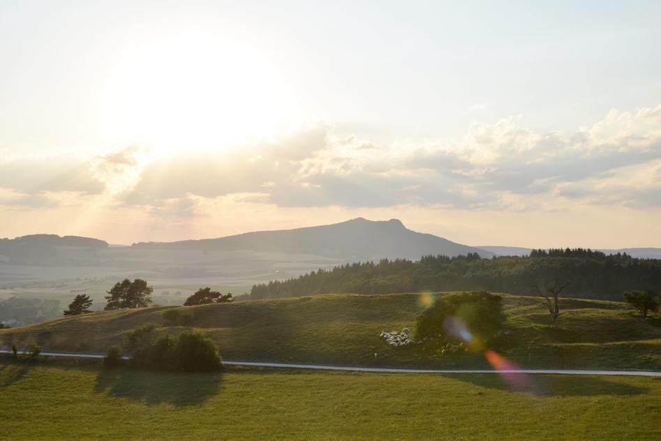 singen sunset germany
