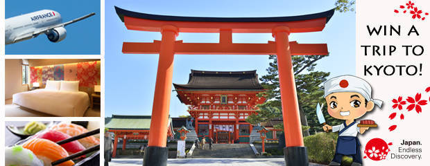 win a trip to kyoto