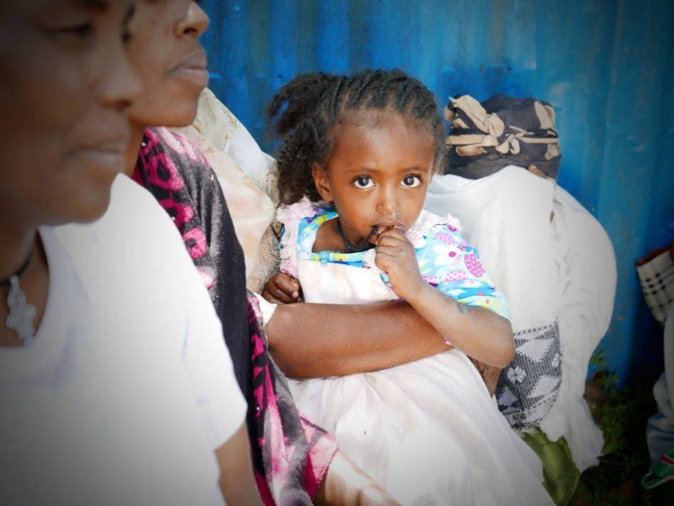 addis ababa little girl
