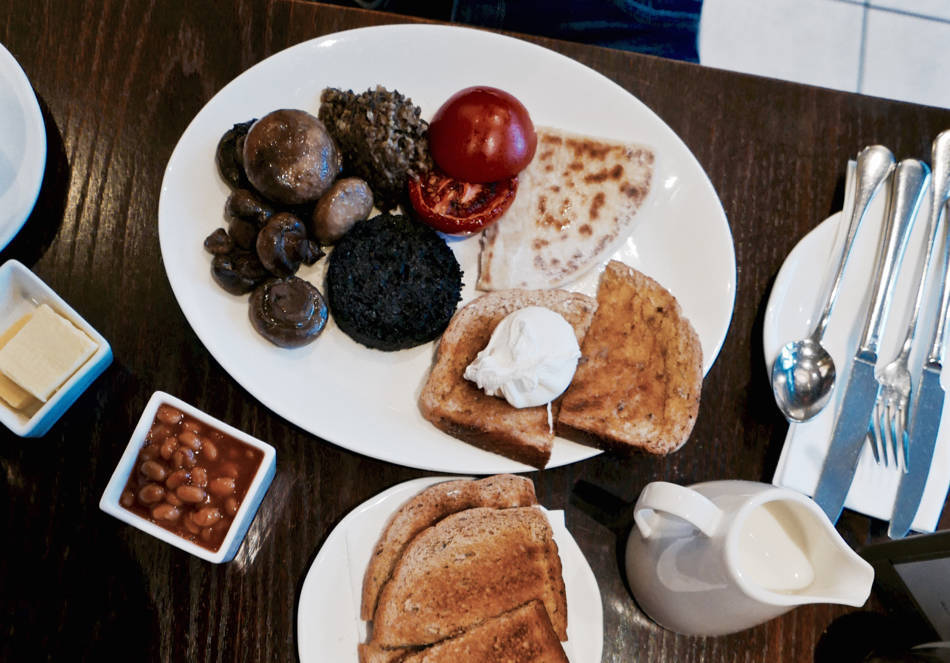 full scottish breakfast bruntsfield hotel edinburgh