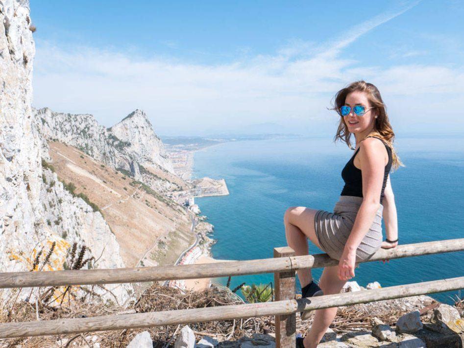 gibraltar mediterranean steps upper rock hike