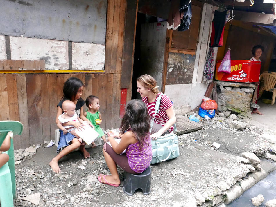 manila slum children