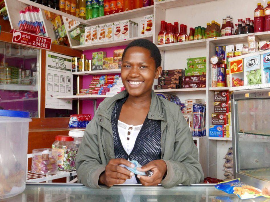 tanzania shopkeeper