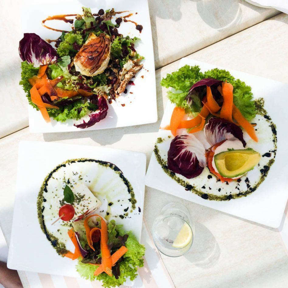 Hotel Coridal Mogan Playa food salads