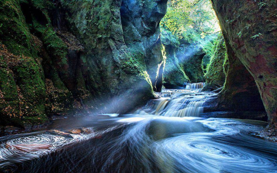finnich gorge scotland magic