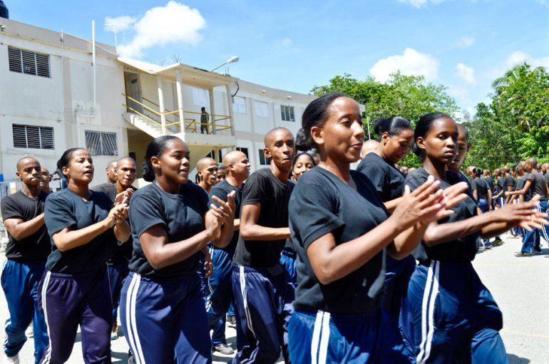 santo domingo poice training academy women
