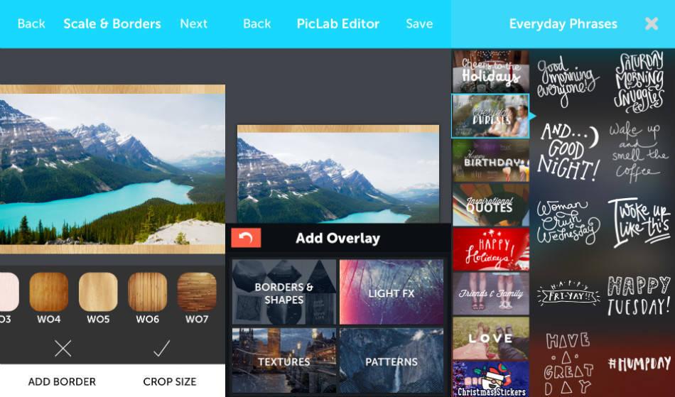 piclab app screenshot