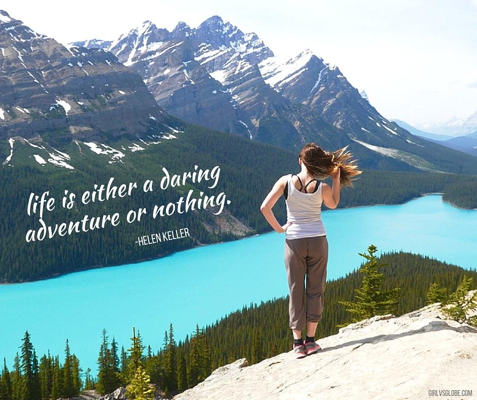life is either a daring adventure or nothing helen keller quote