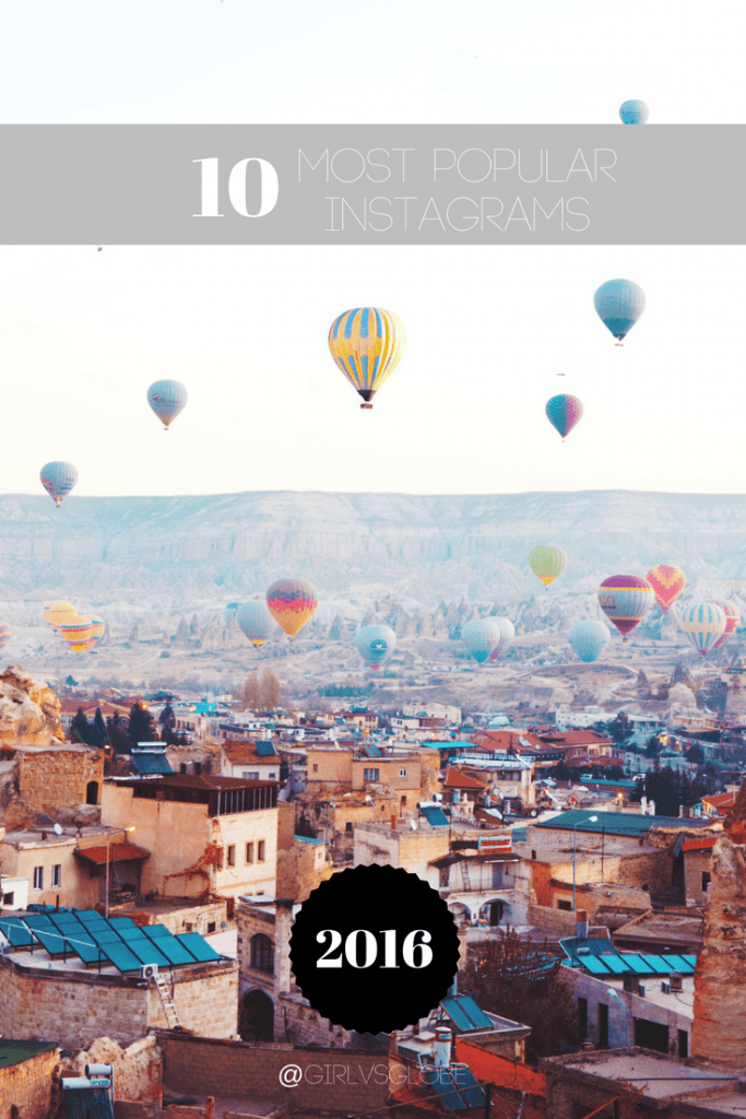 10 most popular Instagrams of 2016