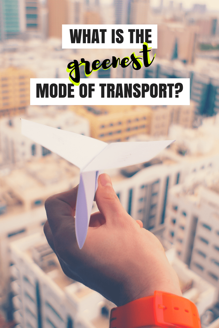 What Is The Greenest Mode of Transport