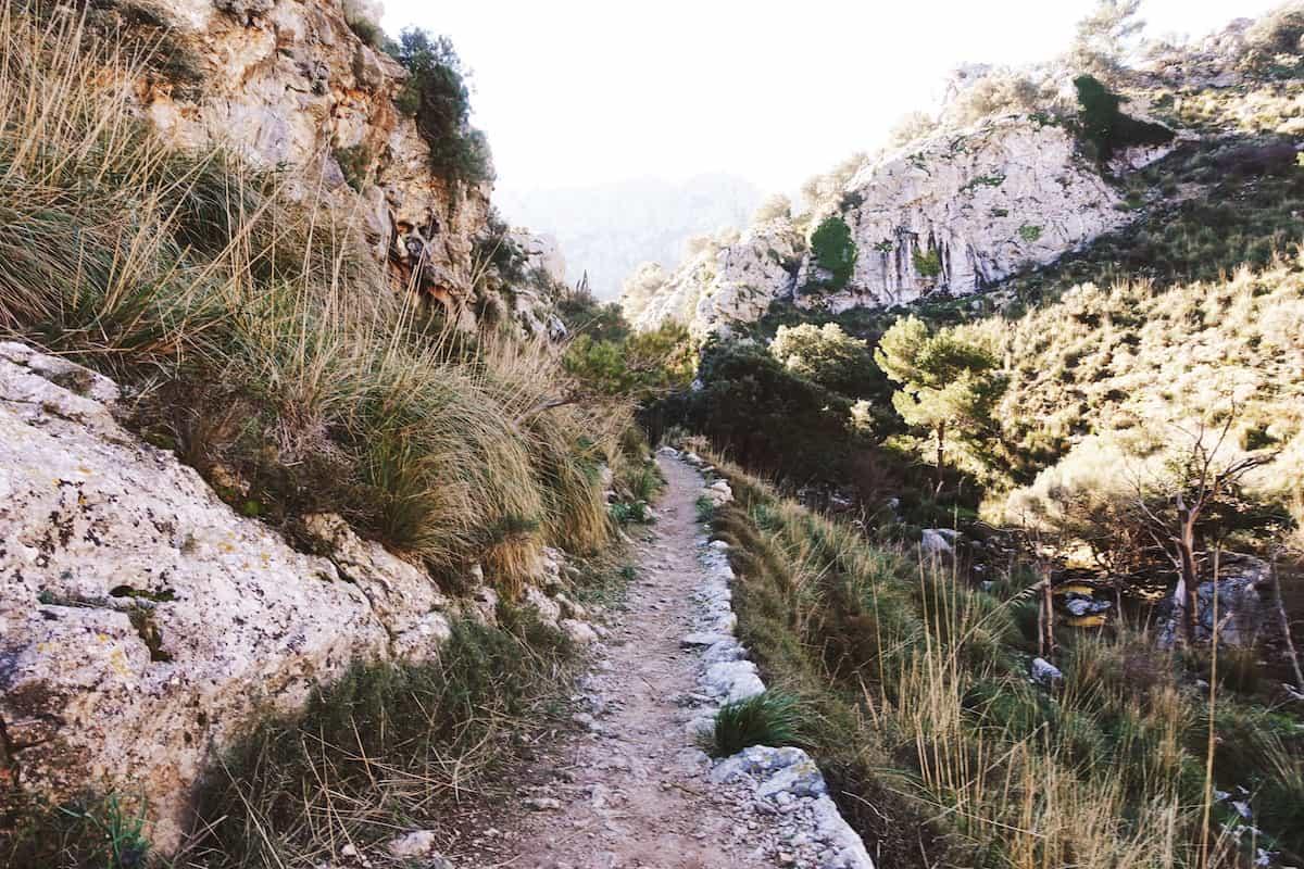 route to tossals verds mallorca serra de tramuntana