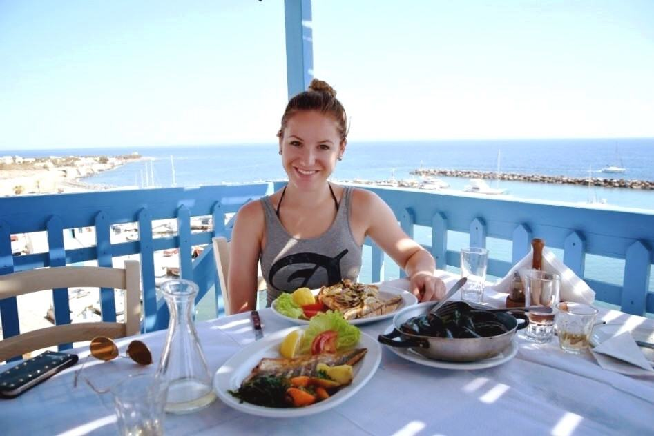 santorini fish restaurant