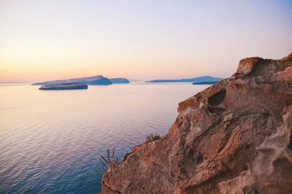 things to do in santorini sunset