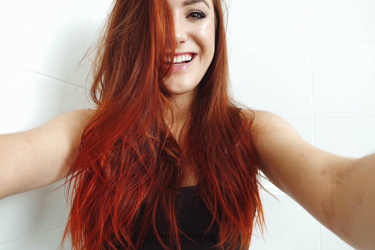Arctic Fox Hair Dye Review Sunset Orange And Cosmic Sunshine Girl