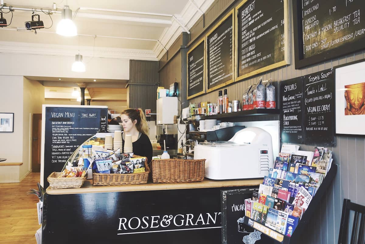 vegan restaurants glasgow rose and grants